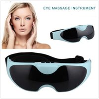 Wholesale Eyes Massager Healty Mask Migraine Electric Care Eye Massager Eye Massage Magnetic Therapy Eye with USB