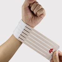 Wholesale Fitness sports safety nylon strength bandage wrist support hand wrist straps sport wristbands support wrist protector
