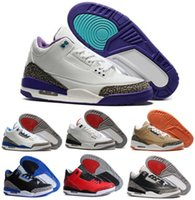 Wholesale Retro Basketball Shoes Men s Air Retros Shoes s III Outdoor Discount Sports Replicas Authentic Man Sneakers
