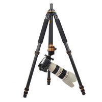 Wholesale Q1000C Carbon Fiber Professional Tripod For DSLR Camera Q C Tripods For Photographer mm Big Ball Panoramic Head