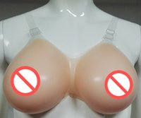 big breast forms - 1800g plump sexy new big fake boobs for cross dressing false silicone breasts forms artificial women enhancements