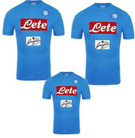 Wholesale New Napoli soccer Jersey HAMSIK home INSIGNE GABBIADINI MERTENS thai quality Naples football shirt soccer jersey