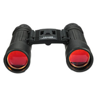 Wholesale NEW Mini Compact Binoculars Portable Telescopes Clear Vision Foldable Case Black For Outdoor Recreations Durable
