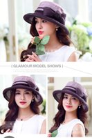 Wholesale Summer beach hat hat female Korean silk hat sunscreen folding hat silk hat female