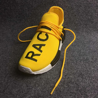Wholesale Quality NMD Human Race Mens Running Shoes NMD Pharrell Williams X NMD HUMANRACE Lighter Women Shoes Sneakers Athletic Shoes