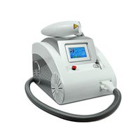 Wholesale 2000MJ Touch Screen Q Switched Nd Yag Laser Machine tattoo removal Eyebrow Pigment Removal Scar Acne removal nm nm nm