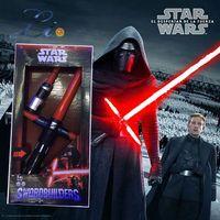 Wholesale Original Star Wars VII The Force Awakens Kylo Ren Lightsaber Action Figure Cosplay Kid Baby birthday Christmas Toys Gift