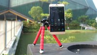 Wholesale Cheapest Car Phone Holder Flexible Octopus Tripod Bracket Stand Mount Monopod Styling Accessories For Sony Mobile Phone Samsung Camera