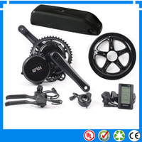battery electric motors - 48V W BBS02 Bafang Fun mid drive electric motor kit with V Ah Li ion down tube ebike battery