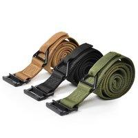 Wholesale Military Equipment Blackhawk Tactical Belt Men Casual Combat Outdoor Nylon Military Belts Adjust Hunt Emergency Rigger Survival