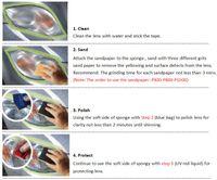 audio restoration - Tools Maintenance Care Fillers Adhesives Sealants Visbella Headlight Restoration Kit kit mail kit kit audio