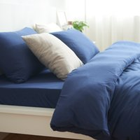 baby sheets purple - Bedding Set Cotton Queen Size Comforter Luxury Purple bedspread double Pillow Case Baby Linens Bed Sheet Sets Duvet Cover
