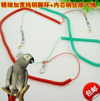 Wholesale Parrot fly line outdoor cord rope traction training rope training aids