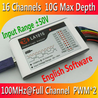 Wholesale Kingst LA1016 USB Logic Analyzer M max sample rate Channels B samples PWM out
