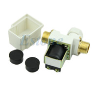 Wholesale J34 Shipping N C DC V MPa quot Electric Solenoid Valve for Water Air New