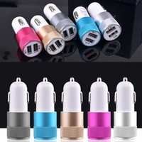 Wholesale Micro Auto Universal Port USB Car Charger A Mini Car Charger Adapter V A A A
