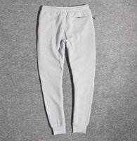 al por mayor pantalones con cremallera-NK WINDRUNNER Tech Sphere Full-Zip CAMISA FLEECE Pantalones para hombres Pantalones deportivos