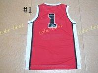 basketball parks - sunset park movie jersey red Cheap Rev Basketball Jerseys Embroidery Sportswear Jersey S XL