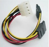 ata hdd adapter - Serial ATA SATA Pin IDE Molex to of Pin HDD Power Adapter Cable Hot Worldwide Promotion
