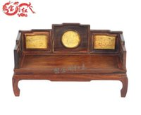 antique mahogany beds - Mahogany antique miniature jewelry treasure house Home Furnishing arhat bed ornaments wood carving crafts new special offer