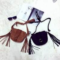 Wholesale new fringe England Tassel The single shoulder bag Elegant Inclined shoulder bag