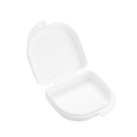 Wholesale New Arrival Convenient Denture Brace Box Portable White Air Hole False Tooth Box W873