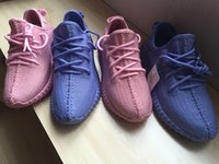 Cheap 2016 Yeezy 350 Boost Womens Kanye West Yeezy 2 Running Shoes,Purple Pink Yeezys Sneakers For Women,Size 36-39 Boosts Free Shipping