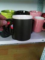 Wholesale chalk mug with custom made logo without chalk