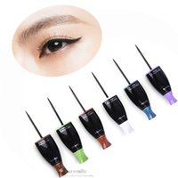 applying makeup - 6pcs New Fantasy Easy to Apply Professional Makeup Tools Quick Drying Magic Magic Waterproof Long Lasting Smooth Eyeliner Pen
