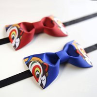 self tie bow ties - Not Knot Original design high quality handmade wukong pattern bow tie Wedding party self bow tie Pocket square set Men s gift
