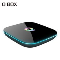 Wholesale 2016 Q Box Android TV BOX Amlogic S905 GB RAM GB ROM Smart TV Box Dual Band WiFi BT4 KODI Online update IPTV Q BOX