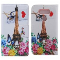 bell wallet - Owl Bell Eiffel Tower Flower Butterfly Wallet Keep Calm Skin Leather Case Soft TPU Card Slot Stand Love Heart Lace Flip Cover For LG G5