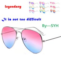 ac cycle - 240PCS HHA804 OULAIOU Metal large Frame unisex UV400 Sunglasses AC lens for women outdoor Eyewear Goggles driving riding cycling glasses
