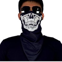Wholesale New Sports Entertainment PRO Cycling Face Mask CS Cosplay Ghost Skull Army Fans Motorcycle Biker Scarf Balaclava Face Mask