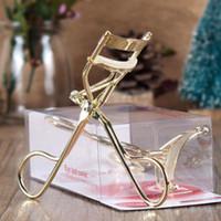Wholesale Professional Eyelash Curler Curling Clip Cosmetic Makeup Handle Metal Tool K00099 SMAD