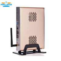 Wholesale Fanless small with HD Intel Celeron C1037U GHz ull alluminum chassis directx11 support
