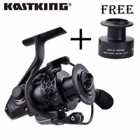 Wholesale KastKing New Mela Super Light Weight Graphite Body Max Drag KG Carp Fishing Reel Spinning Reel