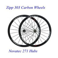 Wholesale Hot Sale C mm Rim mm width K Tubular Clincher Carbon Bicycle Road Bike Wheels Carbon Cycling Wheelset With Novatec Hubs