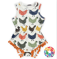baby chickens sale - 01 summer hot sale soft fabric chicken pattern baby bubble romper