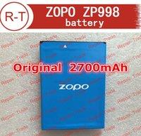 atteries baterías de teléfonos móviles de reemplazo de ZOPO ZP998 Batería Original calidad 2700mAh de iones de litio de alta ZOPO ZP998 Por teléfono inteligente wi ...