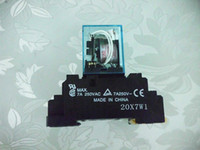 Wholesale MY4N J VAC A Omron New Voltage Relay Low Power With Base High Quality Warranty for Two Years