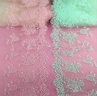 Wholesale 2016 Telas Patchwork Pure Cotton Polyester Light Water Soluble Embroidery Lace Neckties To Be Customized Suitable for All Kinds of Clothing