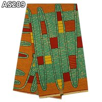 Wholesale Wonderful design sweet african super wax real fabrics dutch style printed wax factory price cotton wax fabric for sewing AS209