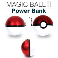 ar ball - For smartphones Samsung iphone s Magic Ball Poke Power Bank For Poke AR Game mAh port USBPortable Chager Battery Freeshipping