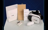 Wholesale 2016 New VR Box Upgrated Version VR Virtual Reality Glasses Rift D Google Cardboard for quot quot Phone US02