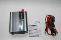 Wholesale New W Car Truck Boat USB Power Inverter DC V to AC V Converter Charger
