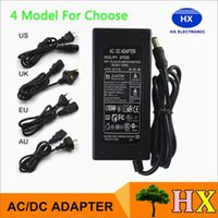 ac input cable - 12V A W Switching Mode Power Supply Power Adapter With Meter Cable AC V input for LED strip