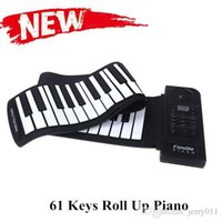 Wholesale Hot Sale Keys Roll Up Piano Portable Foldable Piano Flexible Electric Digital Piano High Quality LED Digital Display