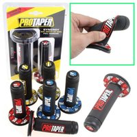 pit bikes - Motorcycle Protaper Grips Motocross Grip Handle Bar DIRT PIT BIKE MOTOCROSS quot HANDLEBAR RUBBER GEL Dual Density MX Grips