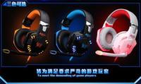 Hotting CHAQUE Stereo G2000 Deep Bass casque Entouré Over-Ear Gaming Headset Bandeau écouteurs avec Light pour PC LOL Jeu